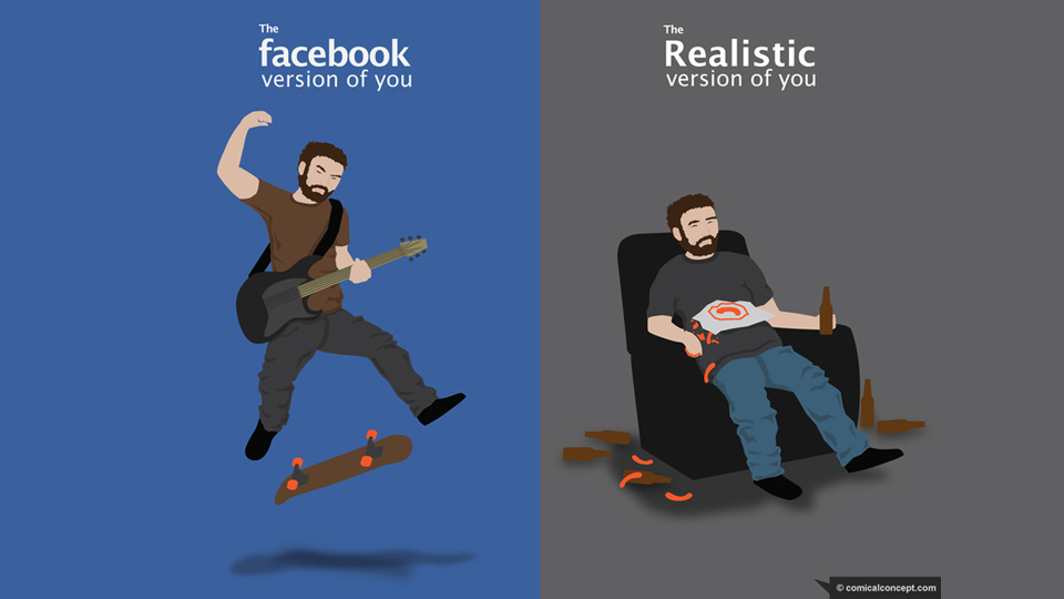 Facebook You v. Real You or Why Personal Branding is Stupid