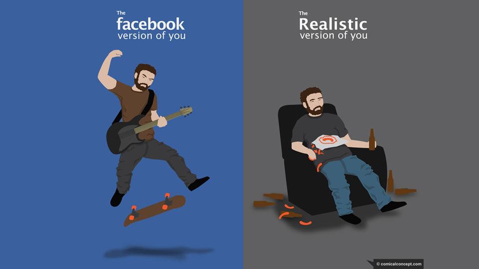 facebookversusactual