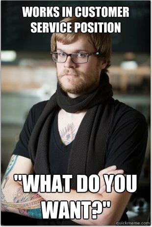 starbucks hipster barista