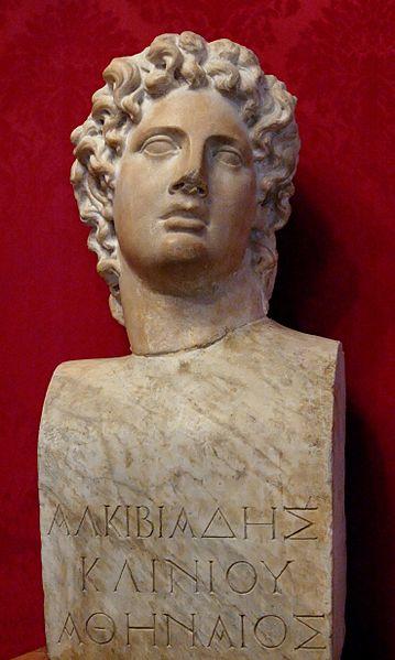 Alcibiades bust