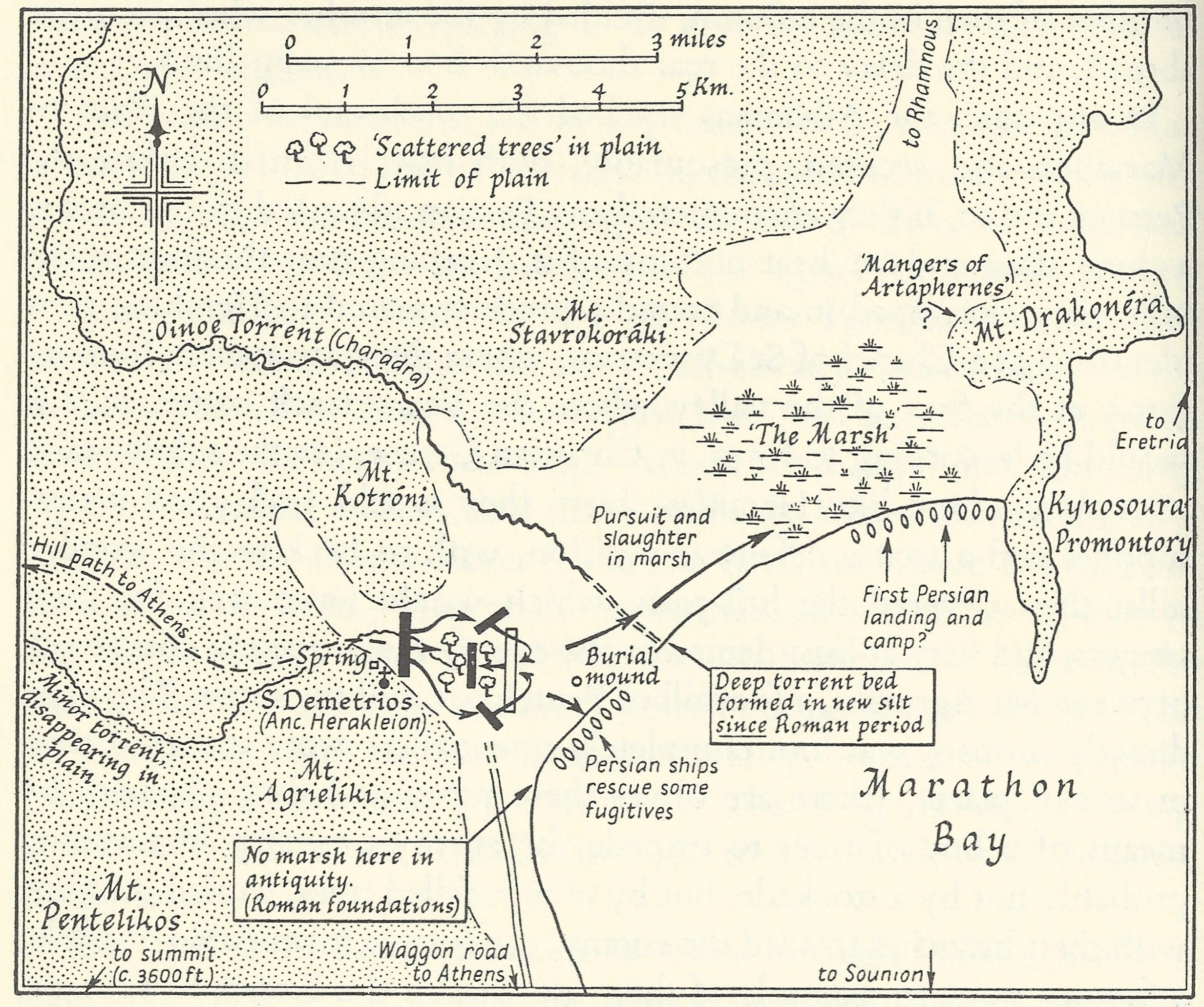The Plain of Marathon