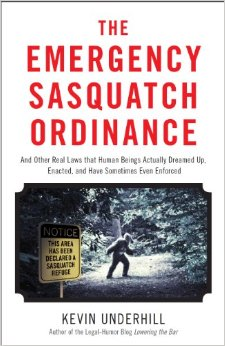 Book Review: The Emergency Sasquatch Ordinance