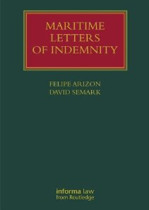 Book Review: Maritime Letters Of Indemnity
