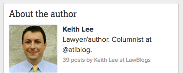 law blogs author profile