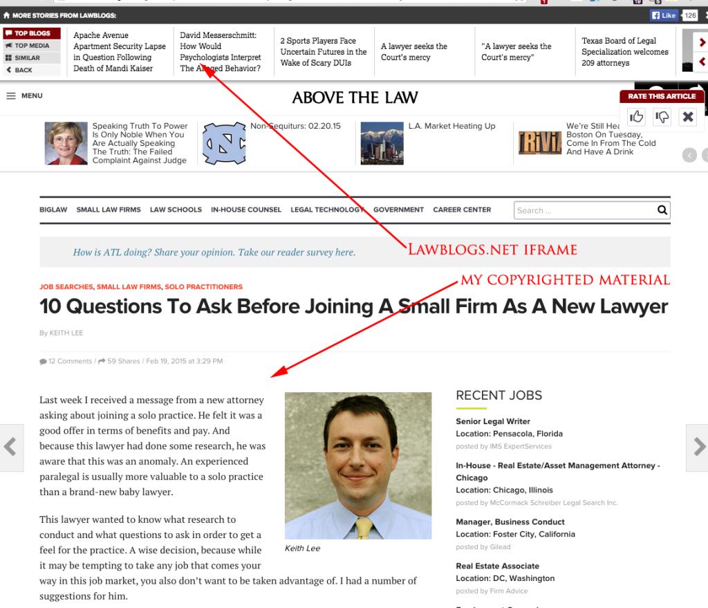 lawblogs iframe