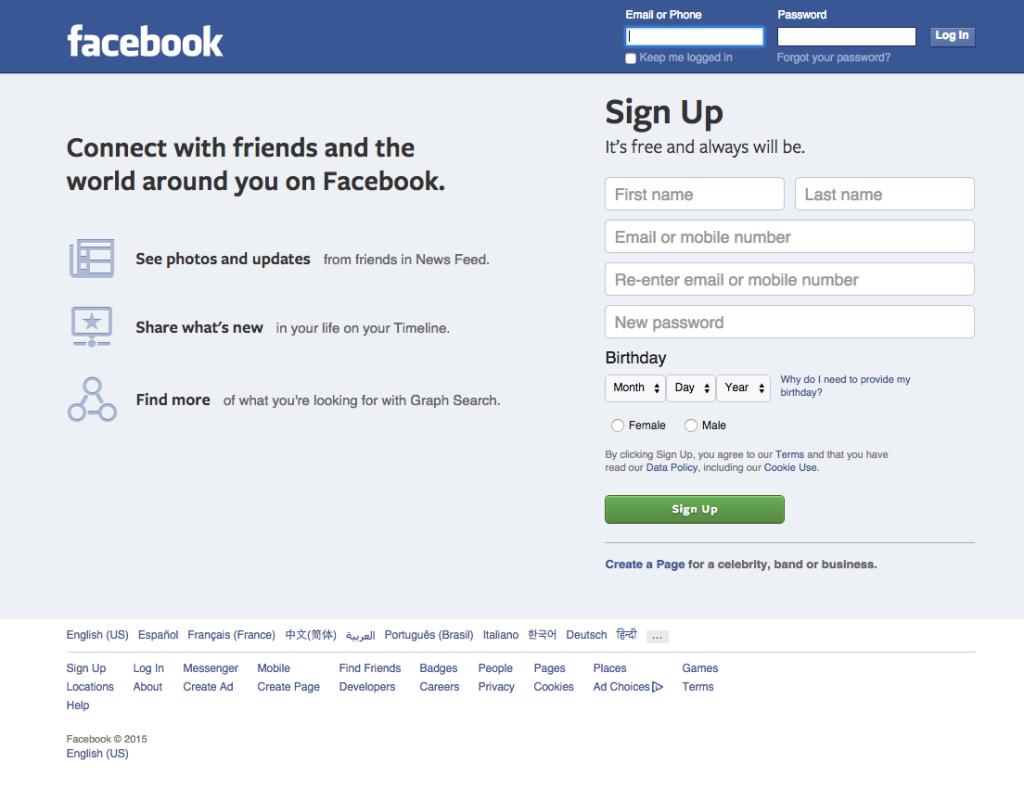 vanilla facebook 2015 associates mind