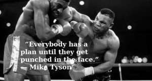 tyson plan punch face