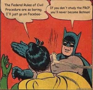 federal rules of civil procedure batman