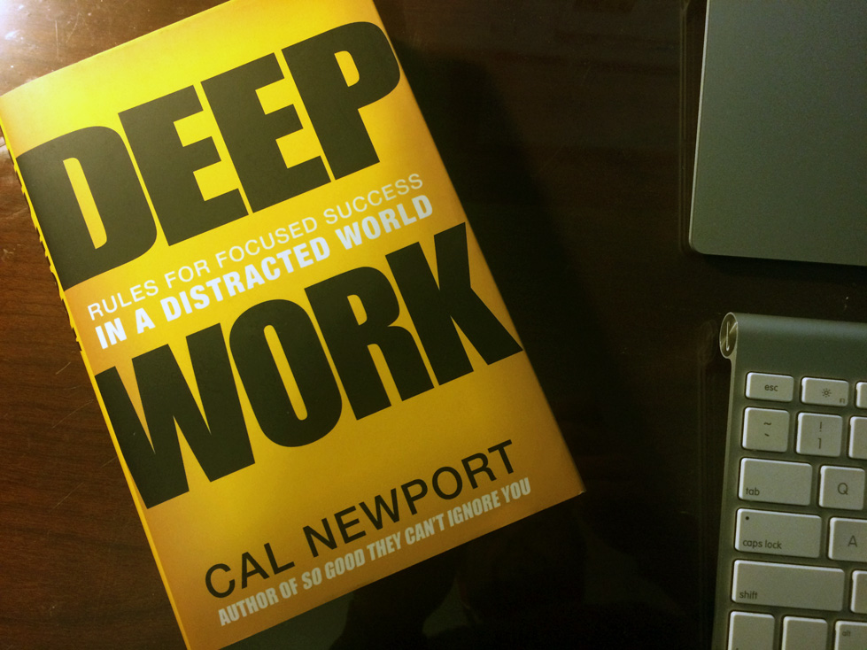 Cal Newport Book Review Deep Work