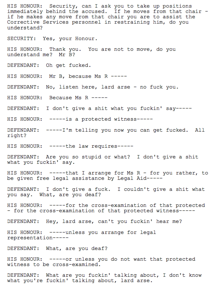 Amazing And Hilarious Courtroom Transcripts
