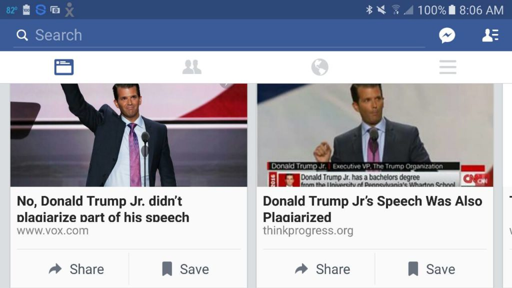 trump jr speech interpretation