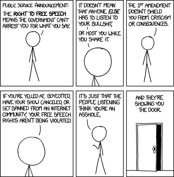 xkcd free speech