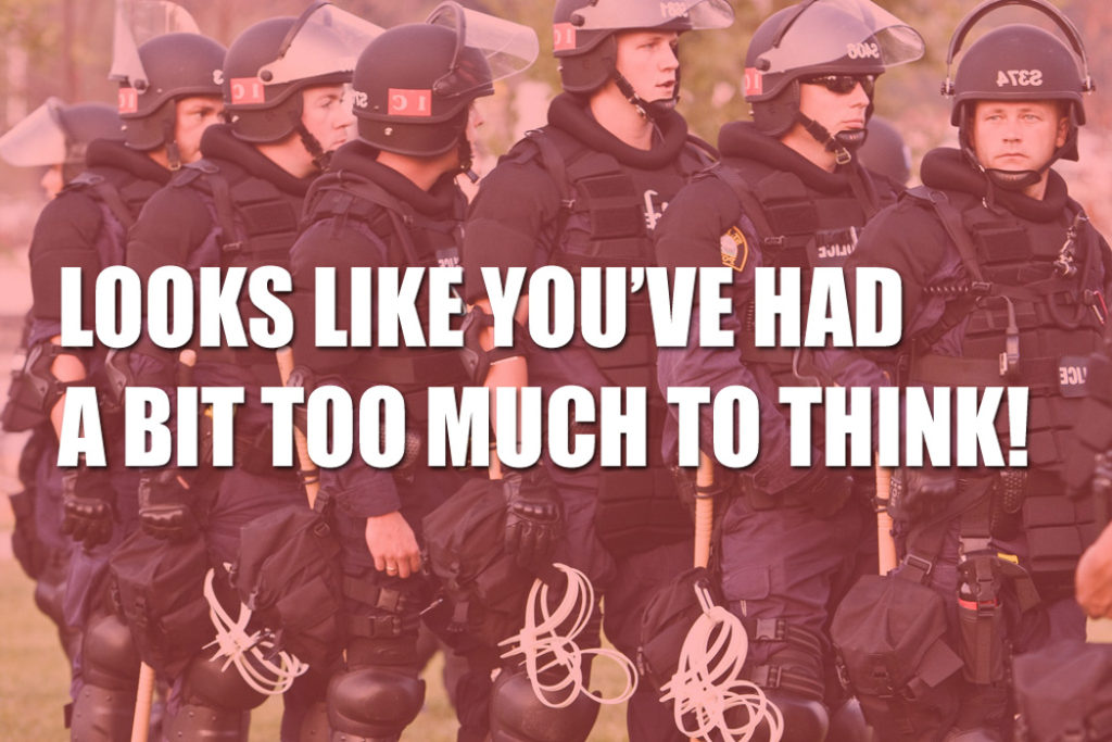 Fake News Thought Police