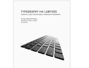 Review: Typography For Lawyers
