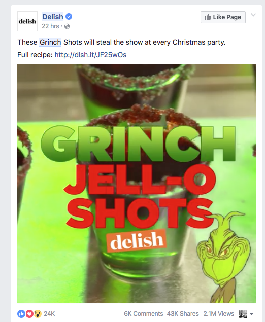 How Delish Stole The Grinch