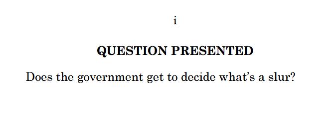 Court Brief Example