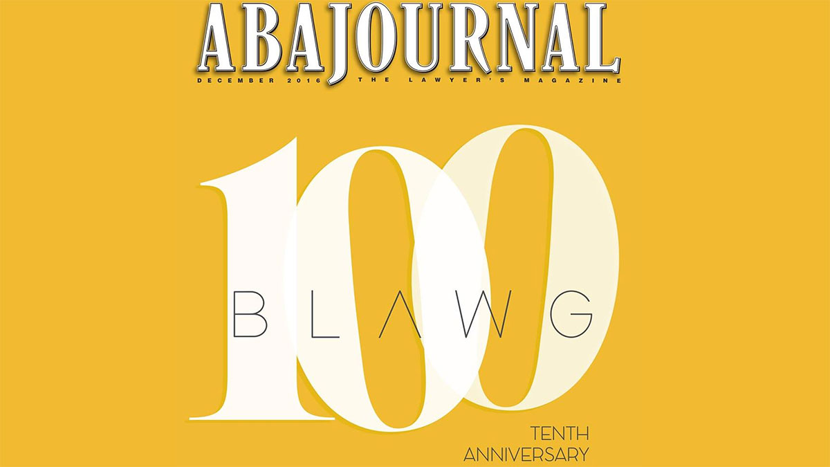 2017 ABA Journal Web 100 Nominations
