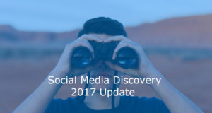 social media discovery 2017